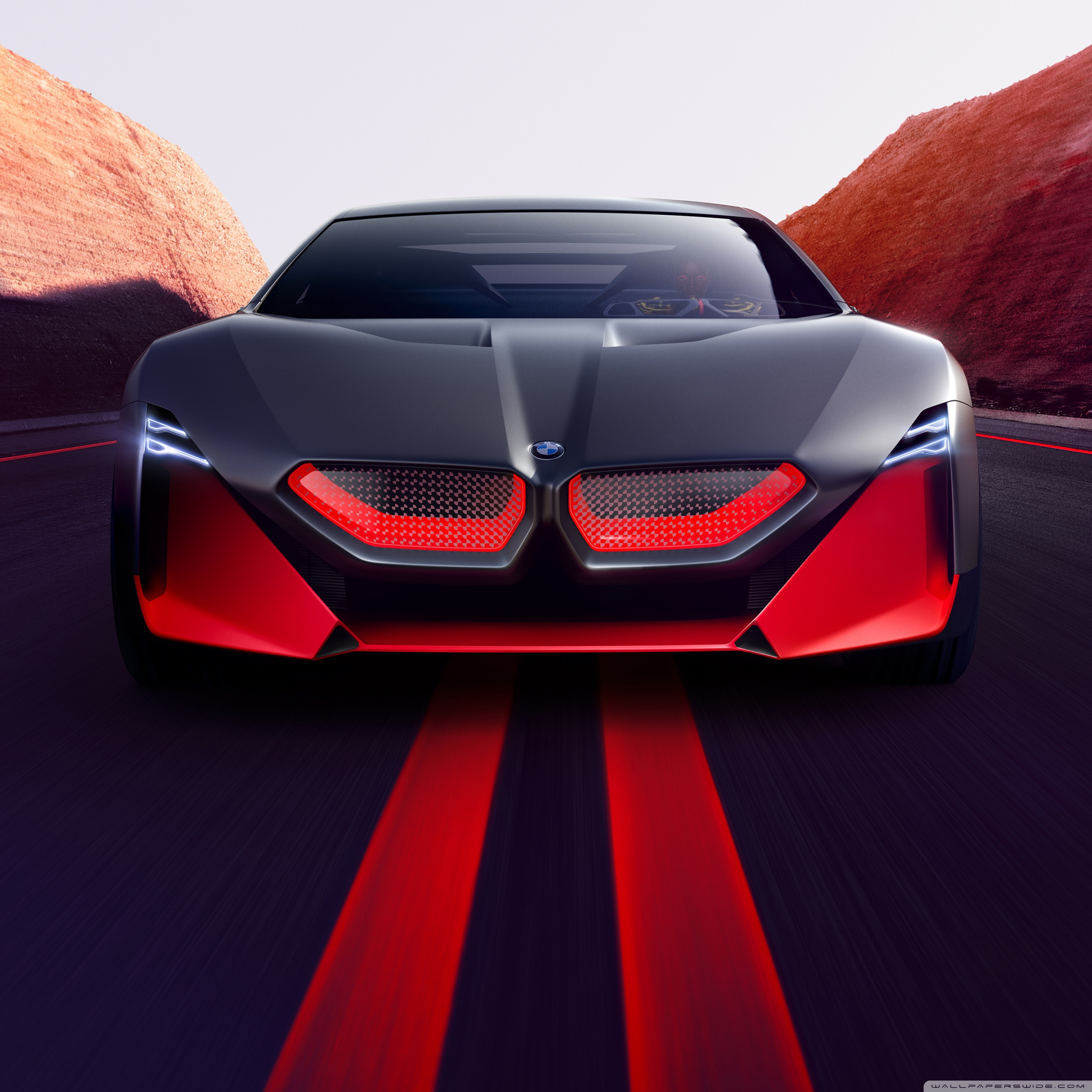 2019 Bmw Vision M Next Sports Car Road Ultra Hd Desktop Background Wallpaper For Widescreen Ultrawide Desktop Laptop Multi Display Dual Monitor Tablet Smartphone
