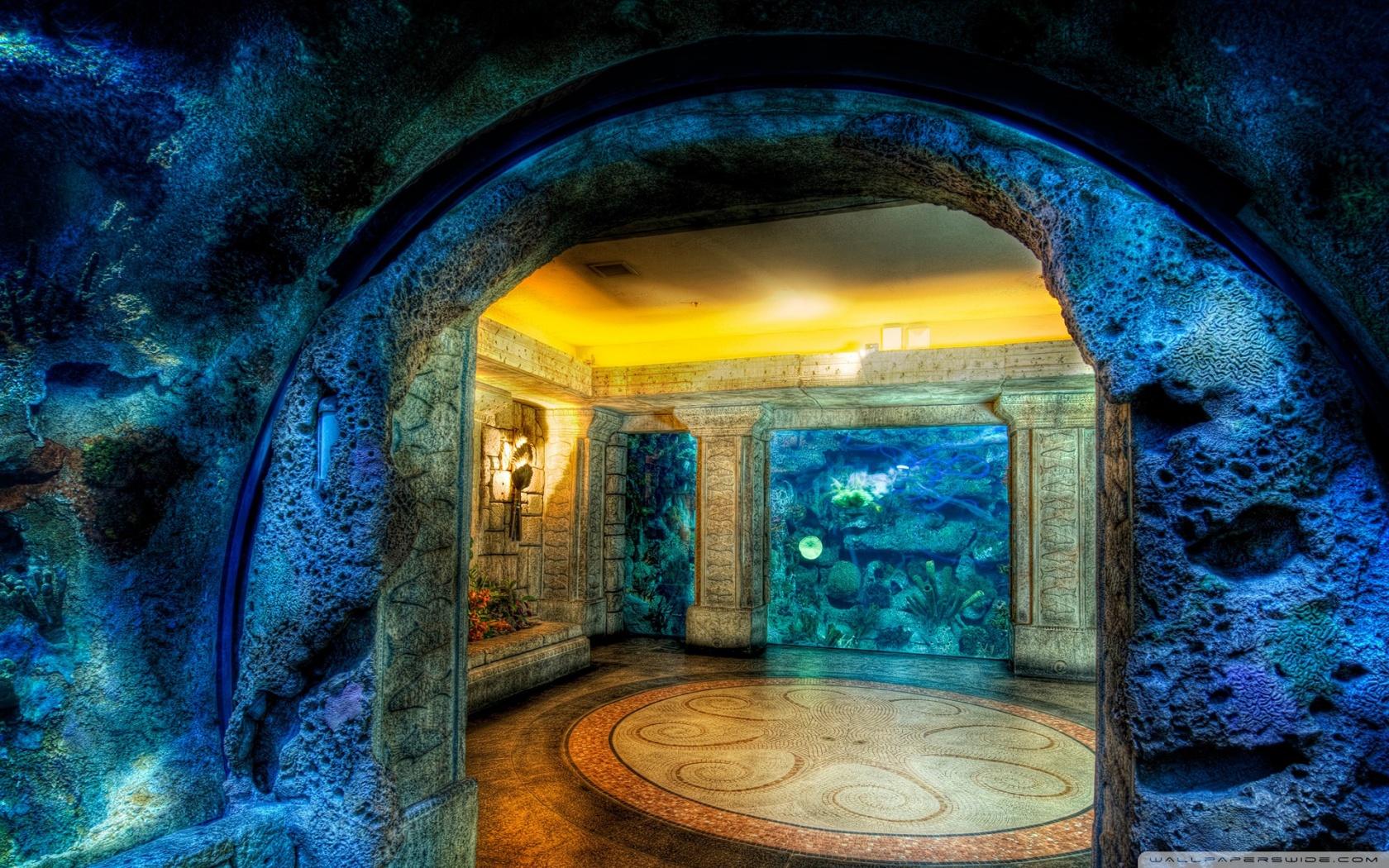Aquarium HDR HD desktop wallpaper : Widescreen : High Definition ...