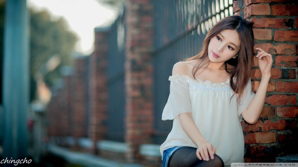 Beautiful Asian Girl ❤ 4K HD Desktop Wallpaper for 4K Ultra