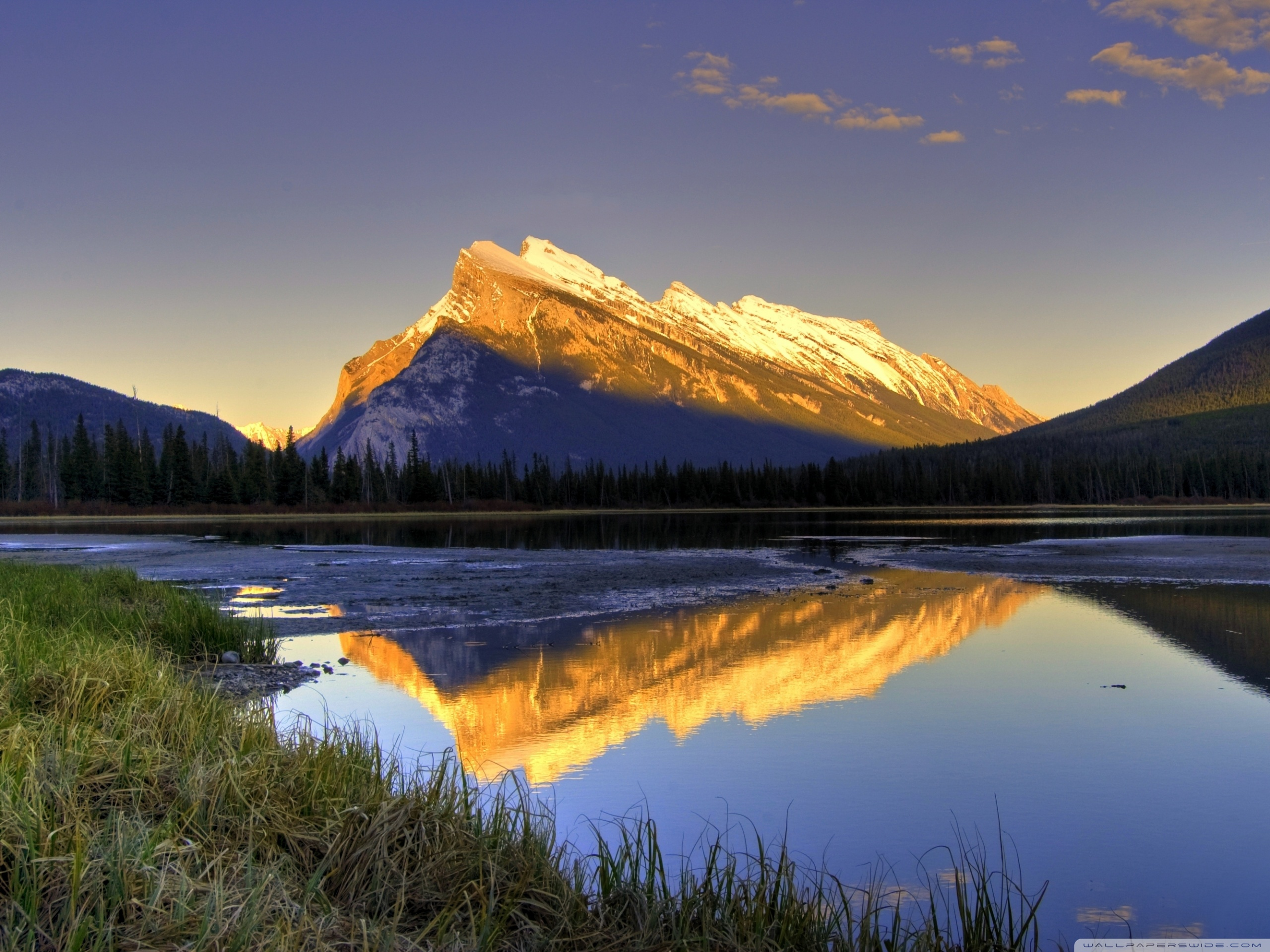 Beautiful Mountain View 4K HD Desktop Wallpaper For Ultra