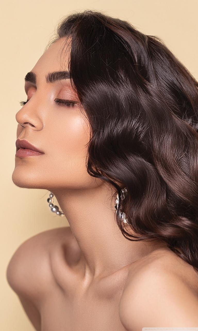 beautiful brown hair aesthetic ultra hd