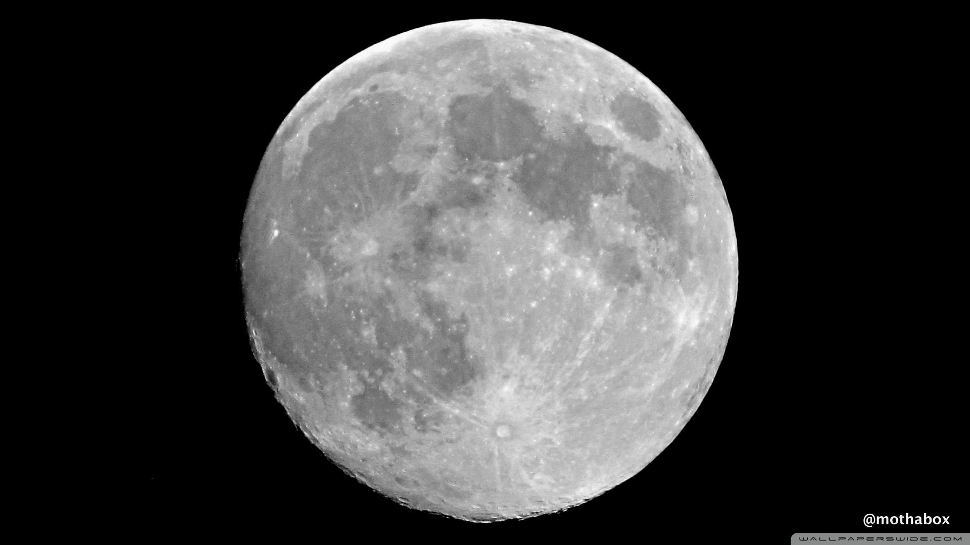Hd wallpaper moon - Hd 16 9