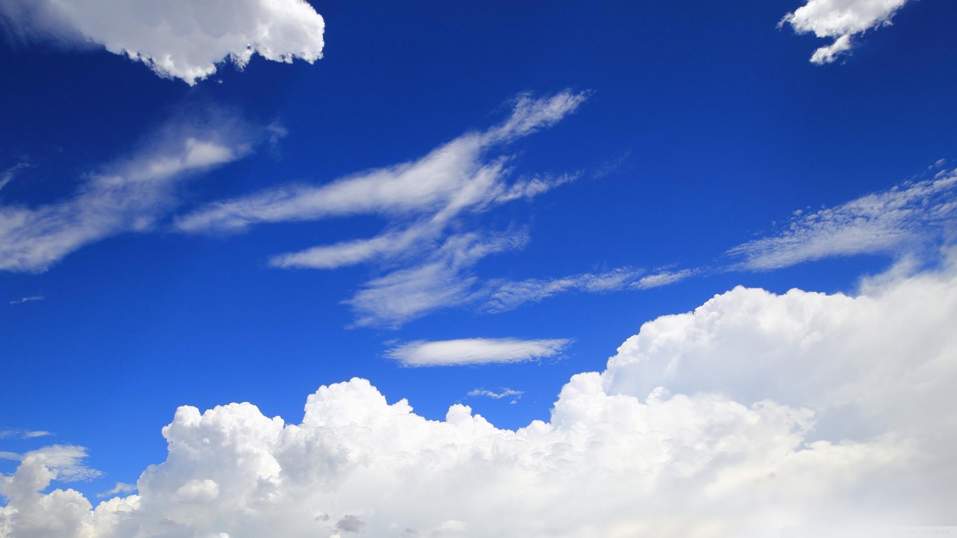 Blue Sky 4k Hd Desktop Wallpaper For Wide Ultra: Blue Sky 4K HD Desktop Wallpaper For • Wide & Ultra