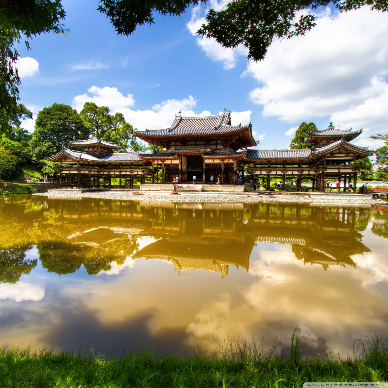 Byodo-In Temple 4K HD Desktop Wallpaper For 4K Ultra HD TV