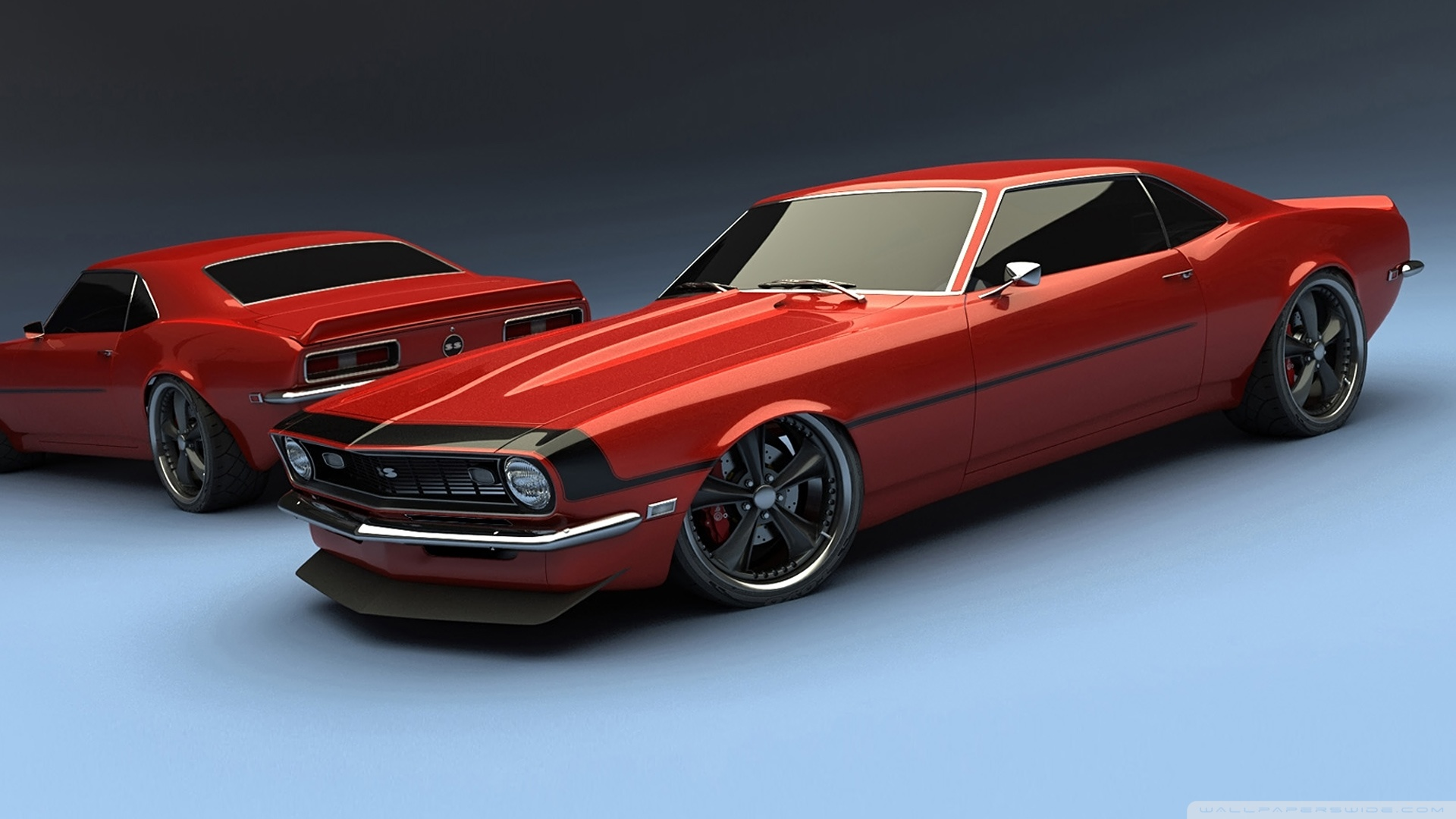 Chevy Camaro Classic Cars Hd Desktop Wallpaper Widescreen High