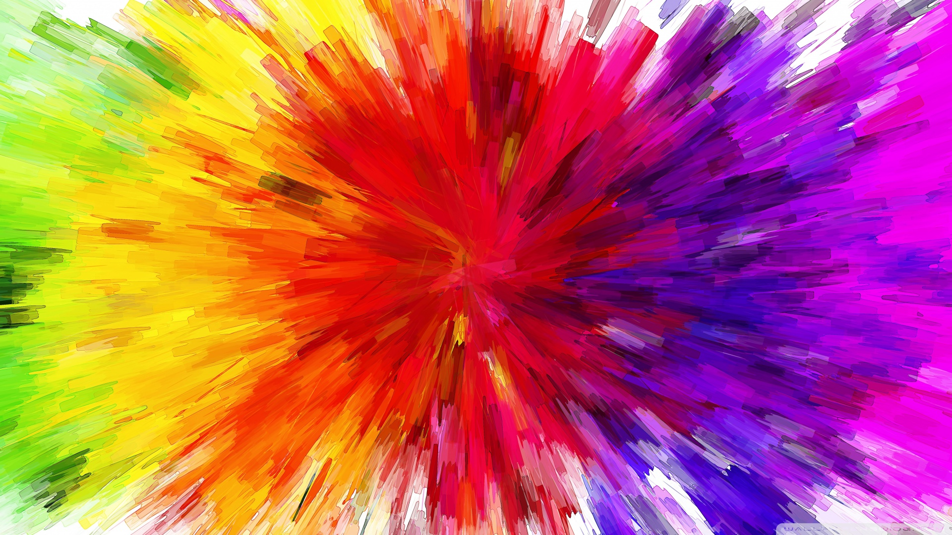 Color Burst Painting 4k Hd Desktop Wallpaper For 4k Ultra Hd Tv