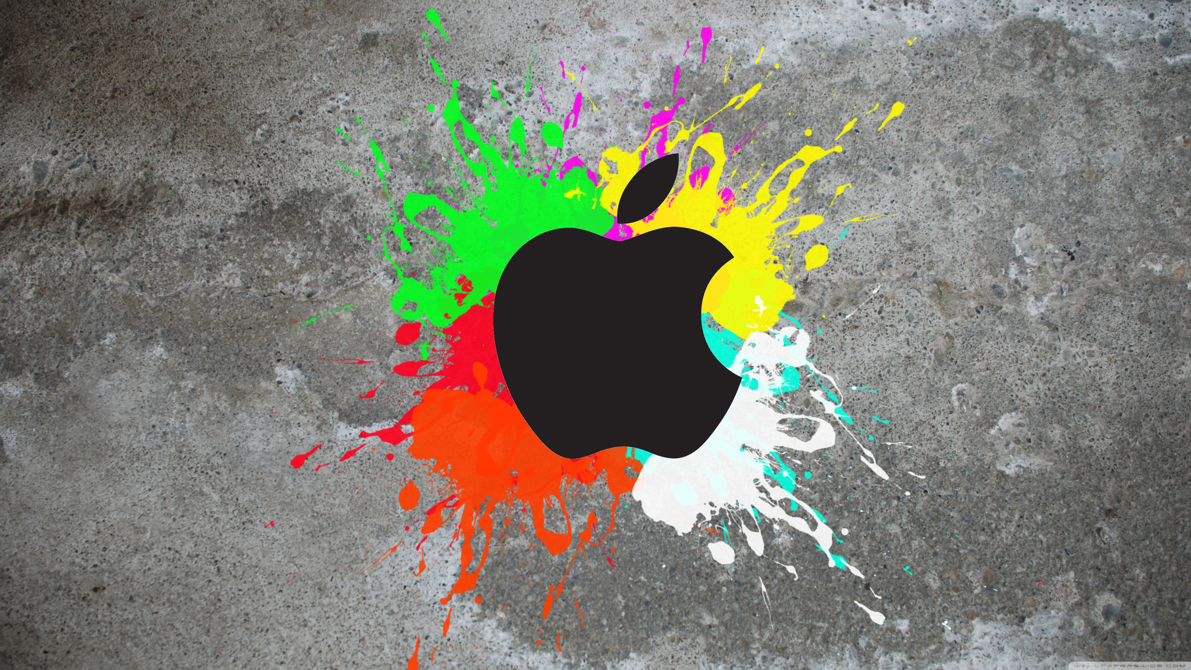 Colorful Apple 4K HD Desktop Wallpaper For Ultra TV O Wide