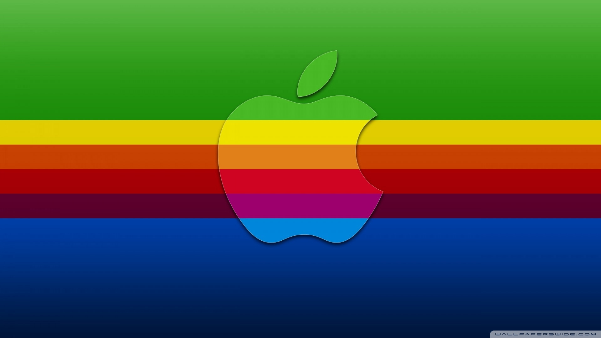 Colorful Apple Background 4K HD Desktop Wallpaper For Ultra