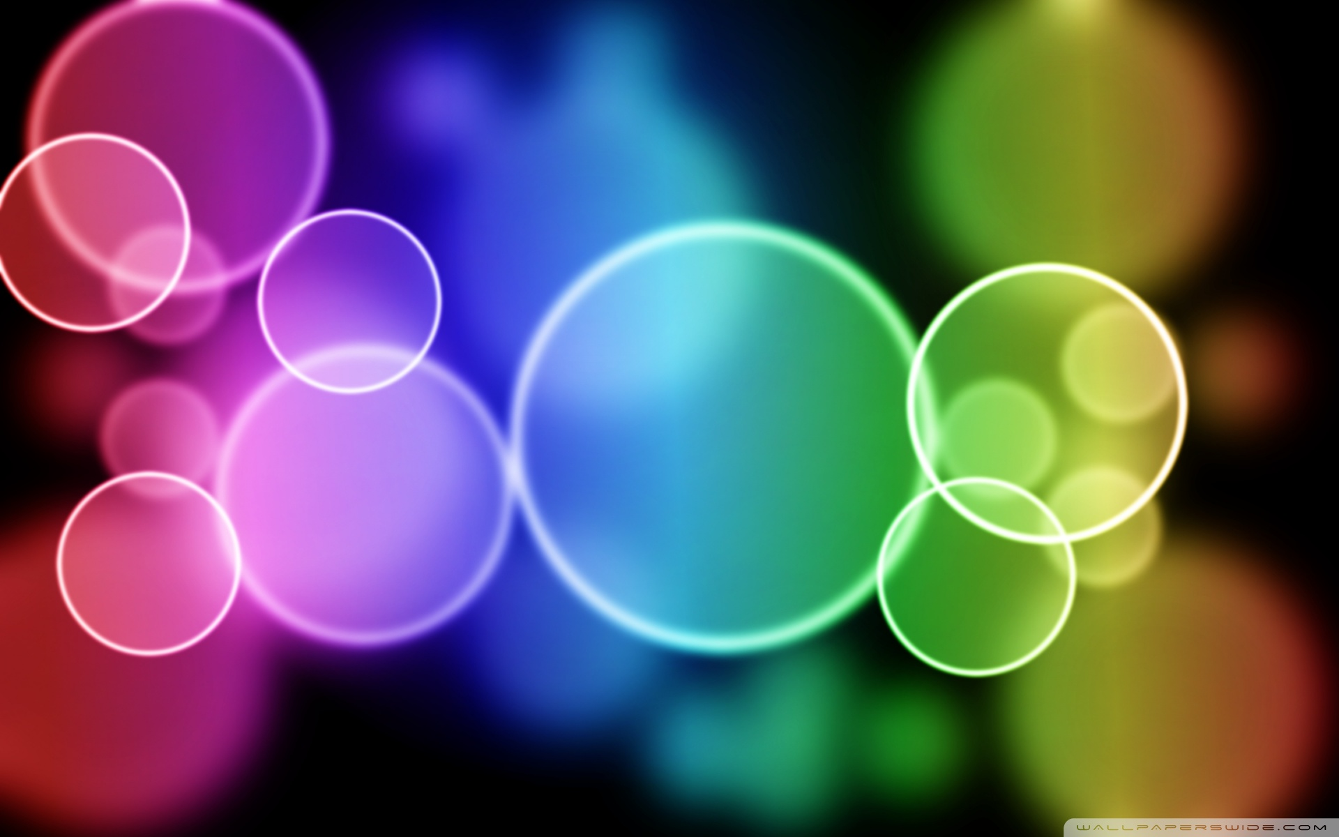 colorful bubbles 4k hd desktop wallpaper for 4k ultra hd