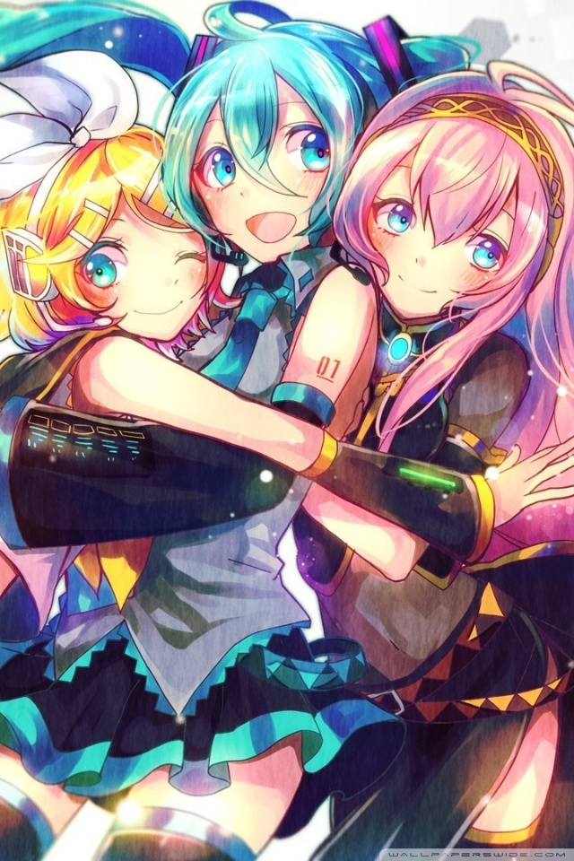 Cool Vocaloid Anime 4K HD Desktop Wallpaper For Ultra TV