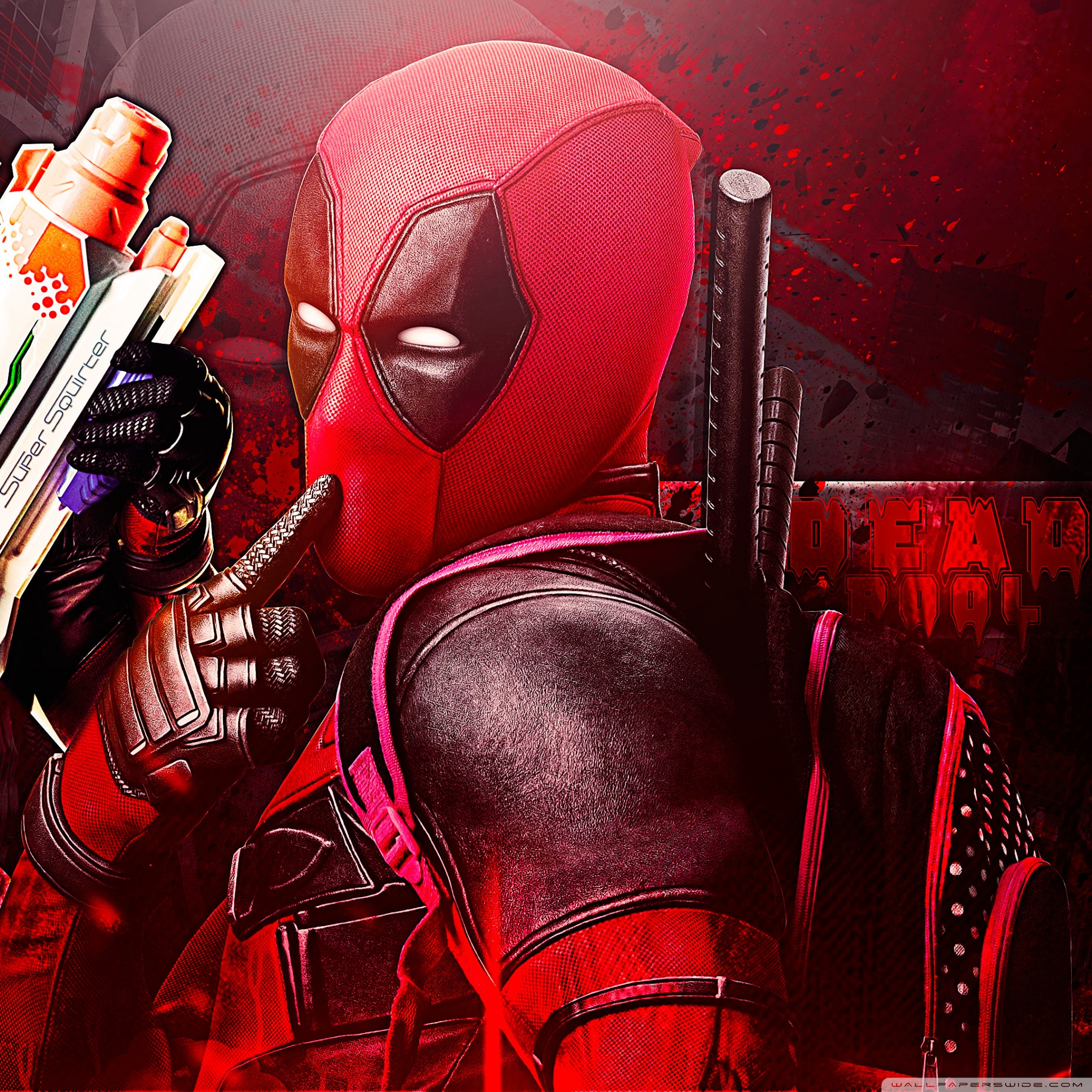 Deadpool 4k hd desktop wallpaper for 4k ultra hd tv wide ipad voltagebd Gallery
