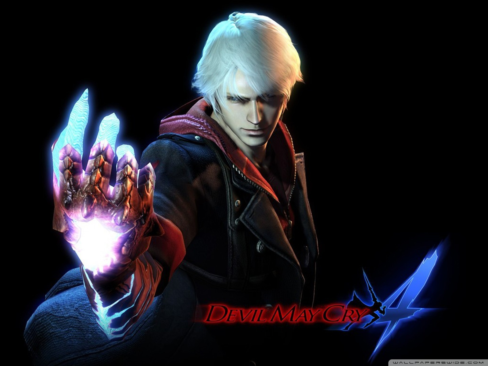 Devil May Cry 4 Nero Ultra Hd Desktop Background Wallpaper