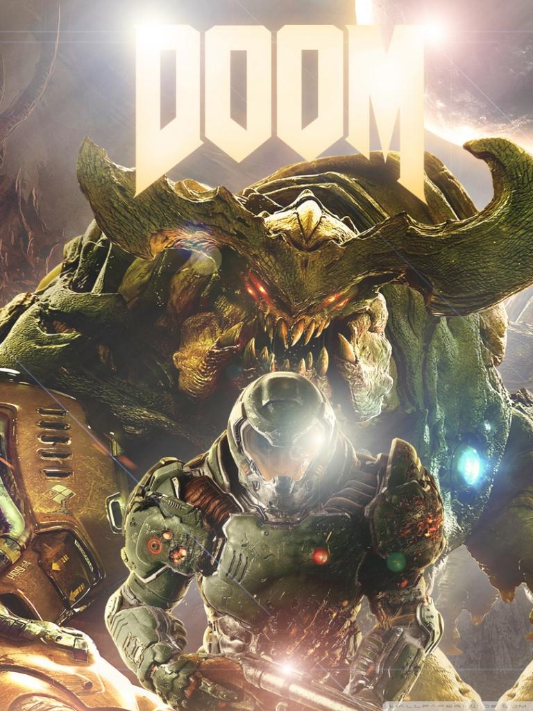 Doom 4 Ultra Hd Desktop Background Wallpaper For 4k Uhd Tv