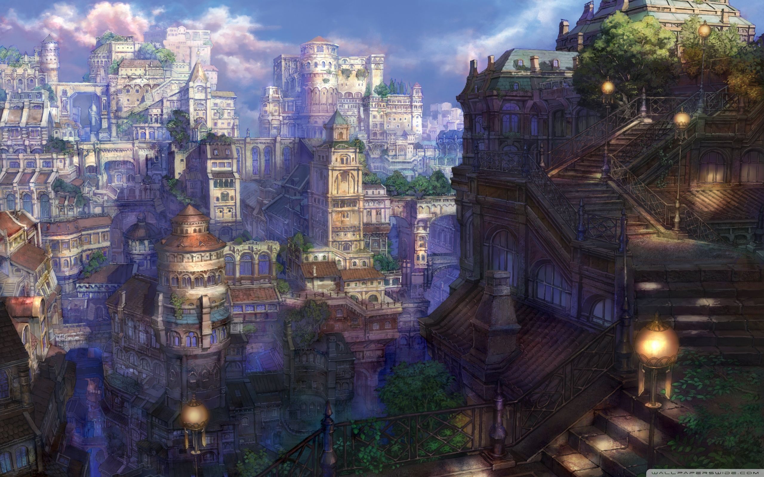Fantasy City Wallpaper Hd: Fantasy Town 4K HD Desktop Wallpaper For 4K Ultra HD TV
