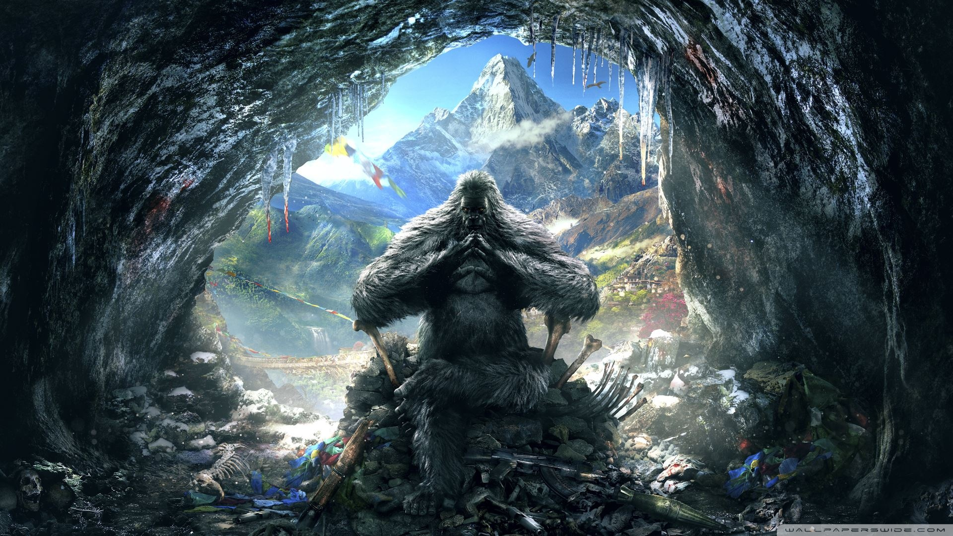 Far Cry 4 Yeti Ultra Hd Desktop Background Wallpaper For 4k Uhd Tv