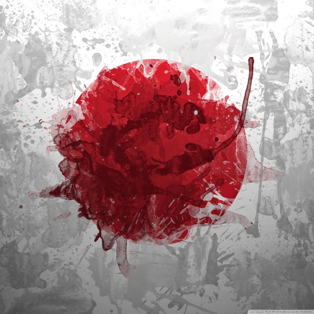 Japan Flag Ultra HD Desktop Background Wallpaper For 4K