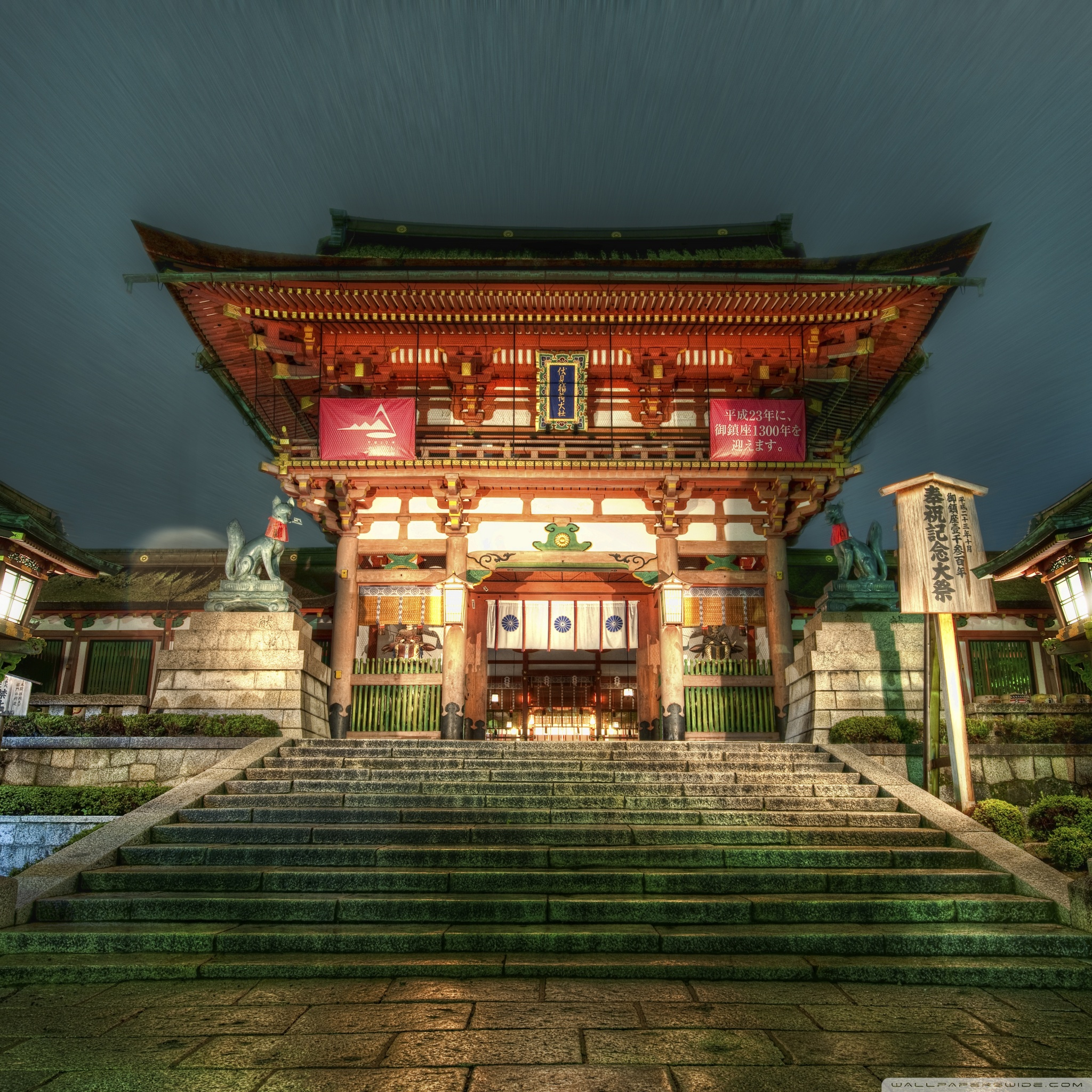 Japanese Temple 4K HD Desktop Wallpaper For 4K Ultra HD TV