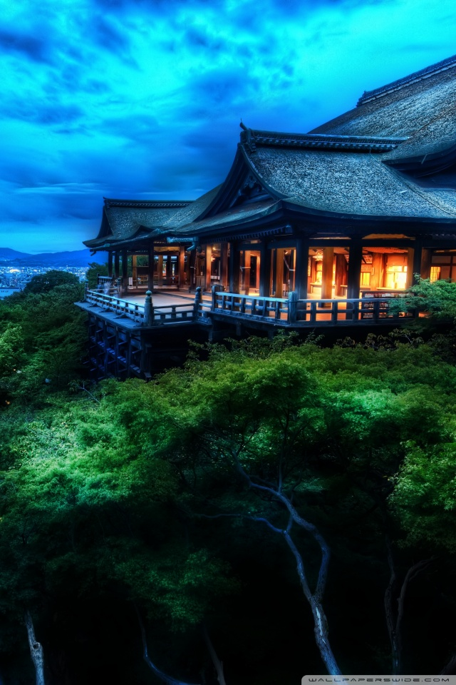 Download Wallpaper Night House - kyoto_japan_at_night-wallpaper-640x960  Snapshot-831116.jpg