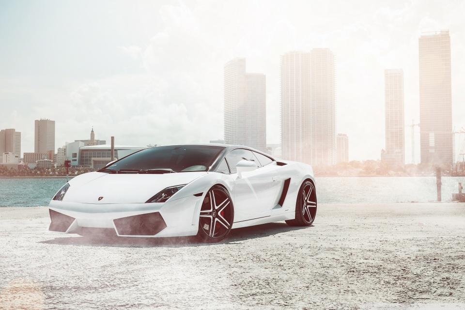 Lamborghini Gallardo Supercar Hd Desktop Wallpaper High
