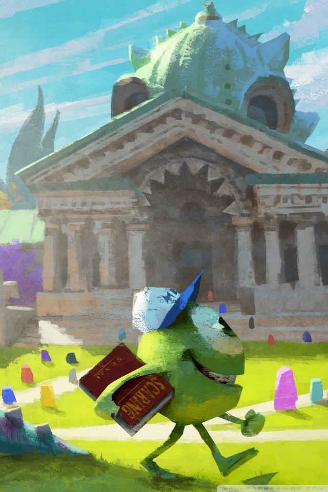 Monster university 2013 concept art 4k hd desktop wallpaper for mobile hvga 32 voltagebd Images