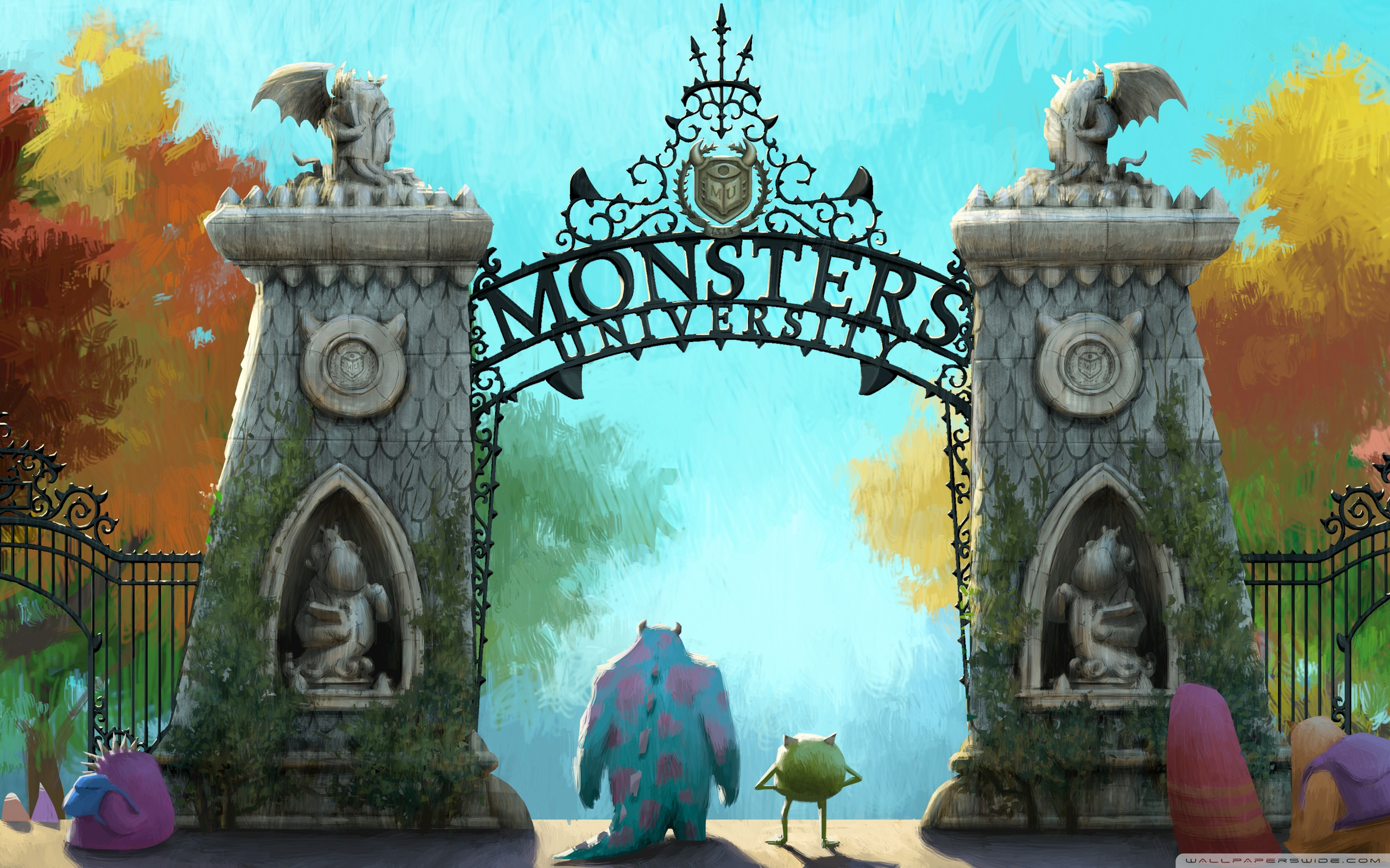 Monsters university 2013 4k hd desktop wallpaper for 4k ultra wide voltagebd Images
