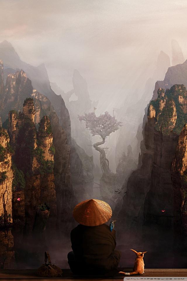 Mountains of china 4k hd desktop wallpaper for 4k ultra hd tv dual monitor desktops tablet - Ultra 4k background images ...