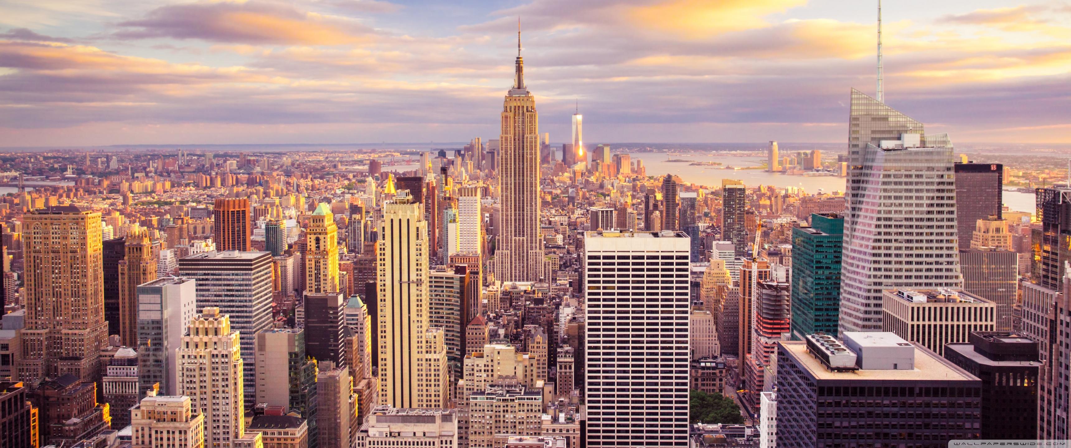 New York City Buildings 4K HD Desktop Wallpaper for 4K Ultra HD