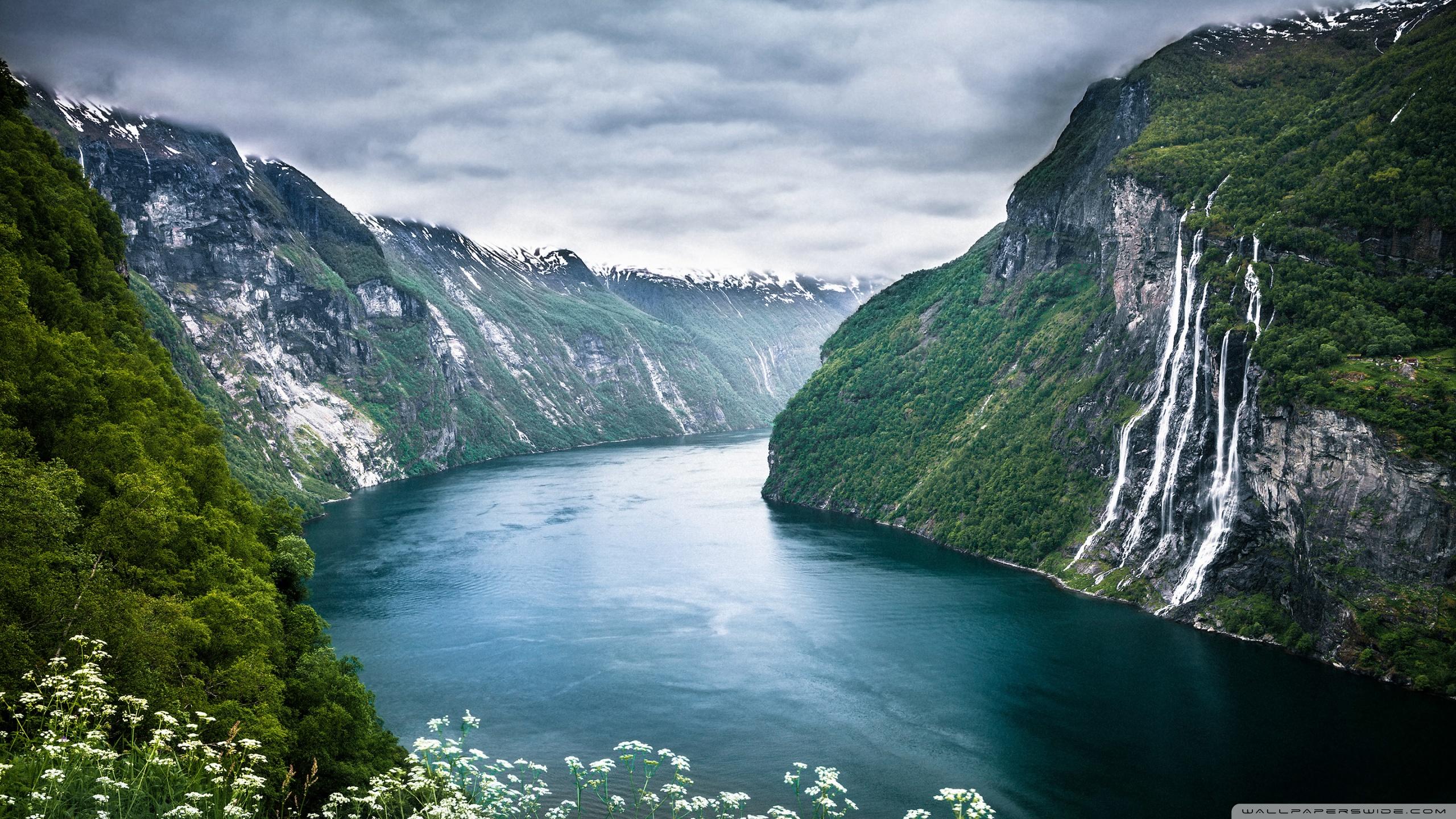 Norway Fjord 4K HD Desktop Wallpaper For 4K Ultra HD TV