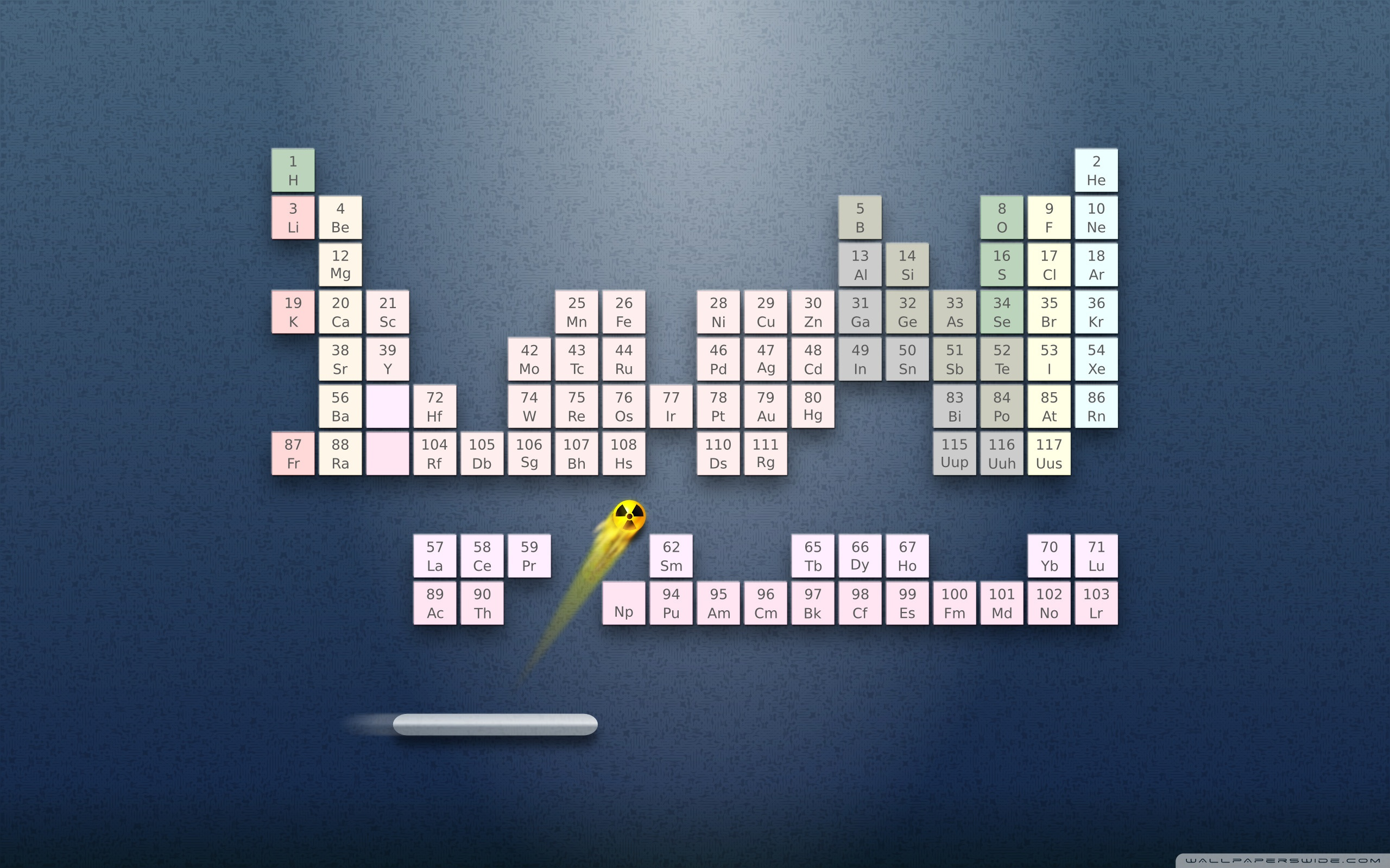 Periodic System Of Chemical Elements HD desktop wallpaper : High ...