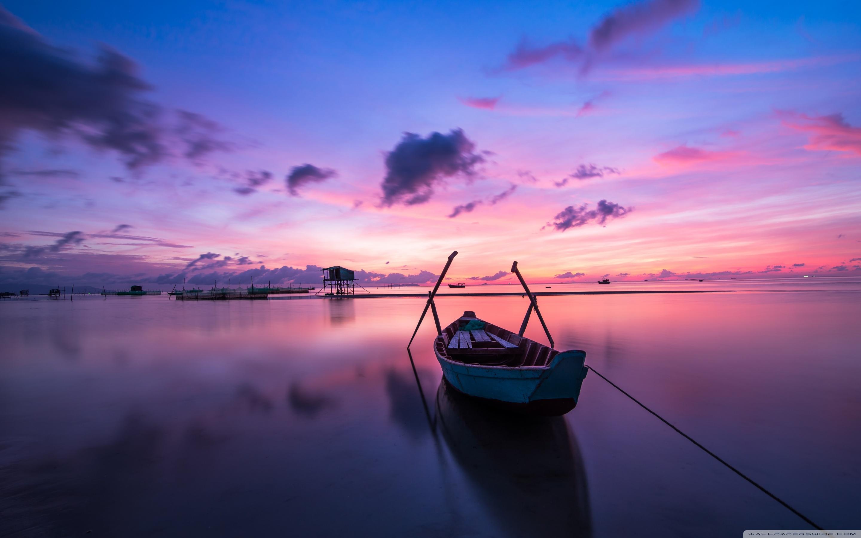 Phu Quoc Island Sunrise 4K HD Desktop Wallpaper For Ultra