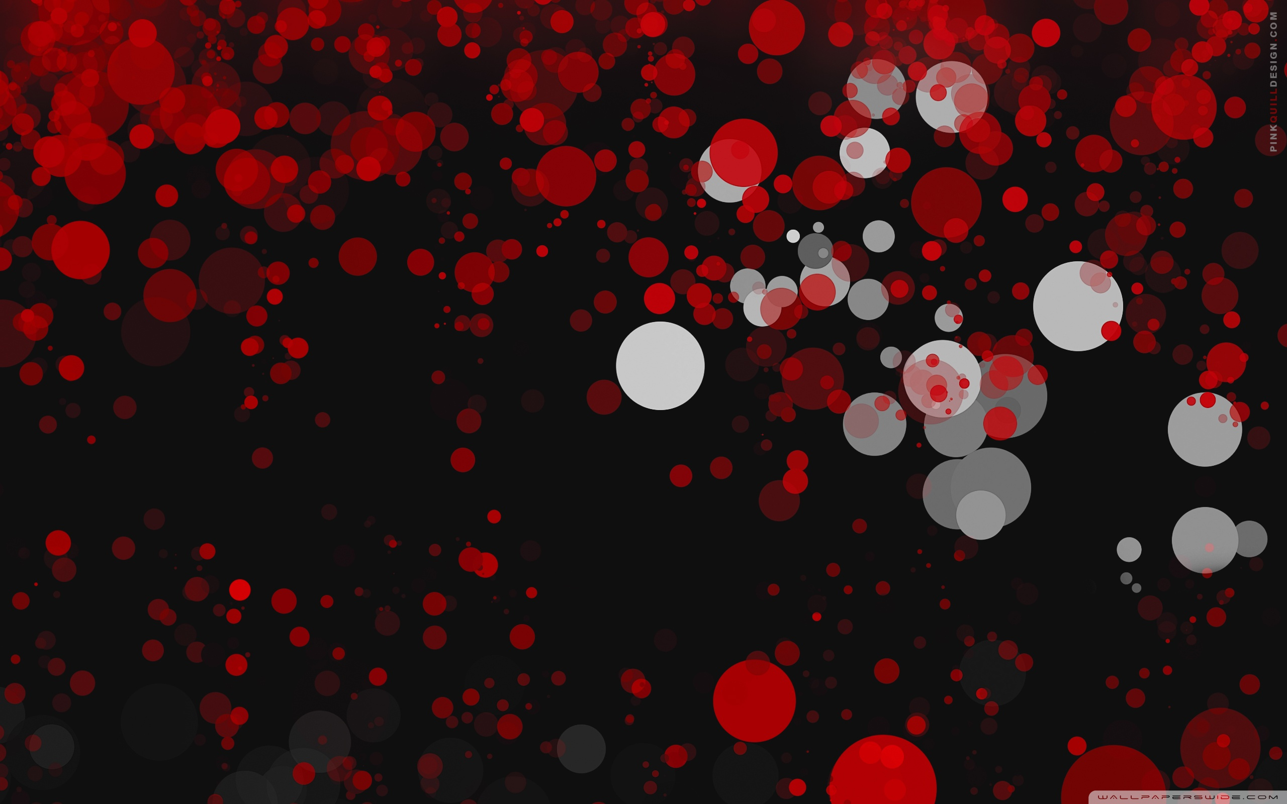 Red Dark Bokeh Ultra Hd Desktop Background Wallpaper For 4k