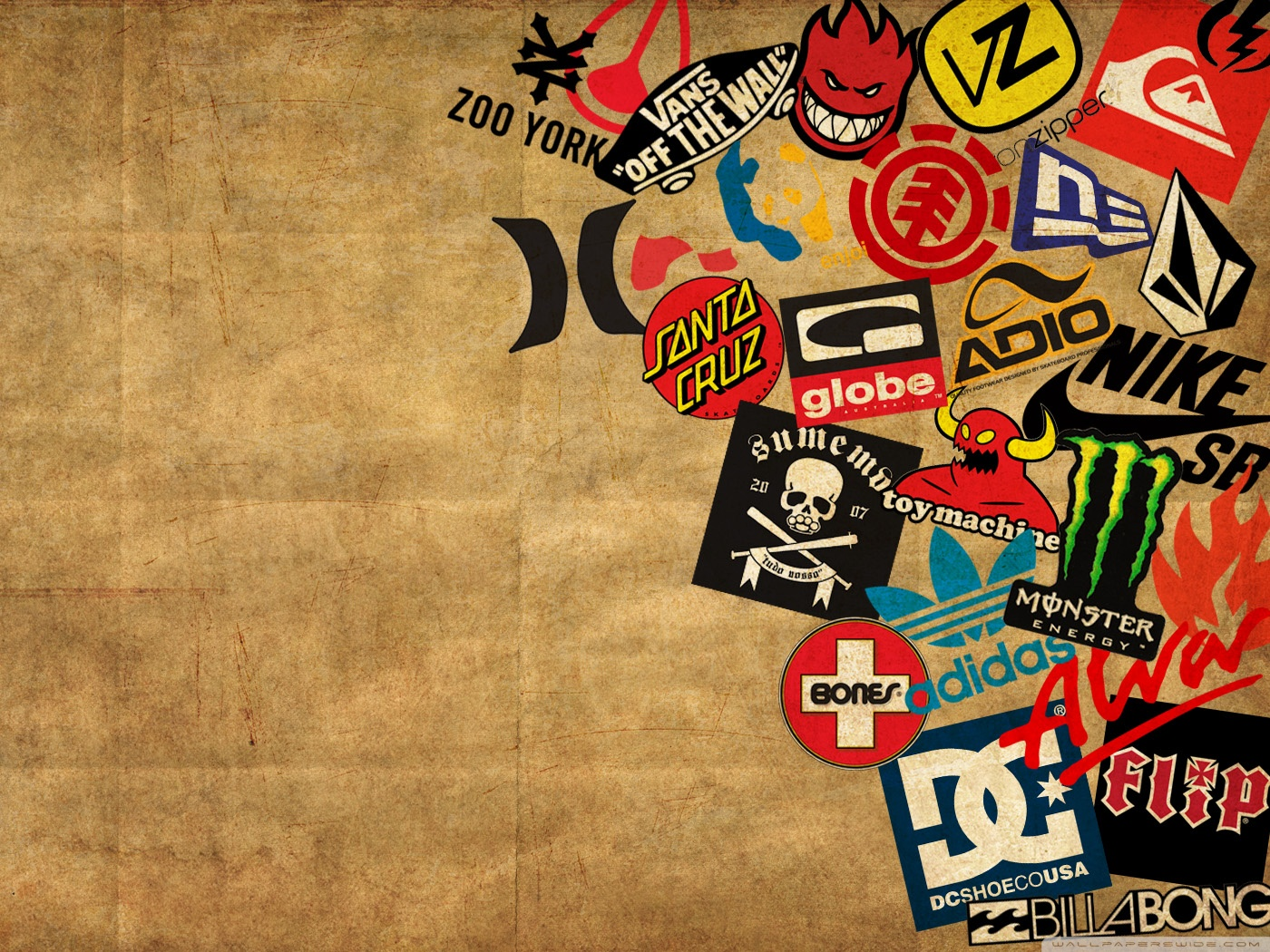Skateboard Logos 4K HD Desktop Wallpaper For O Wide Ultra