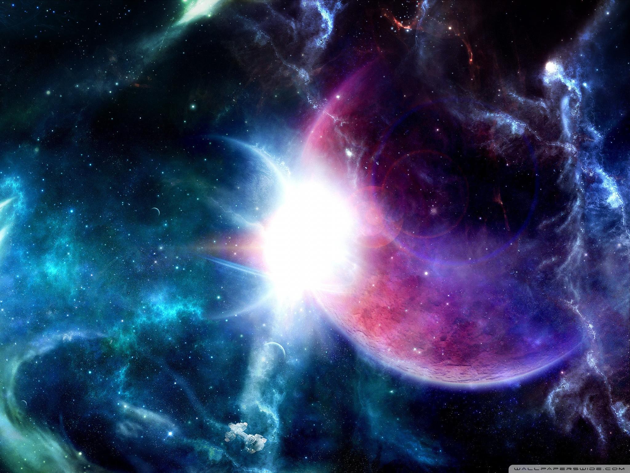 Space Fantasy 4K HD Desktop Wallpaper For Ultra TV O Tablet