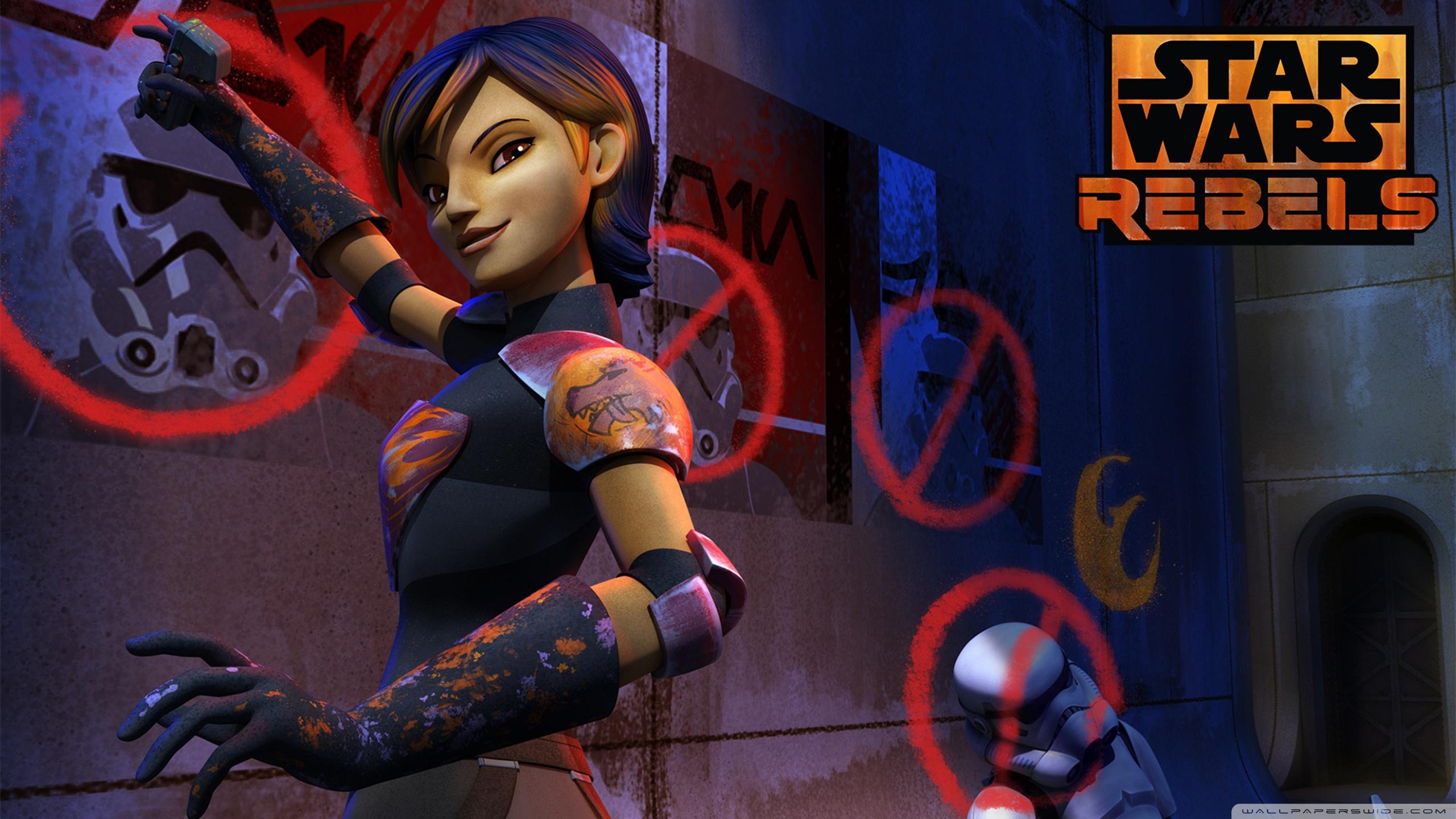 star wars rebels sabine hd desktop wallpaper : widescreen : high
