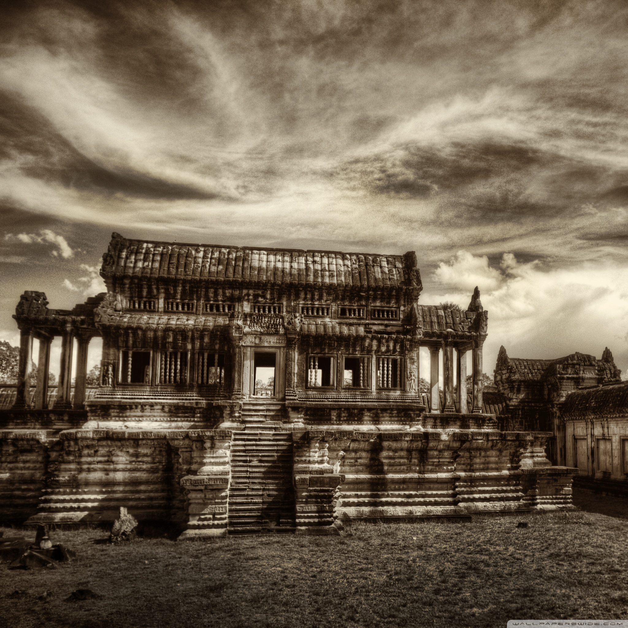 Temple In Cambodia 4K HD Desktop Wallpaper For 4K Ultra HD