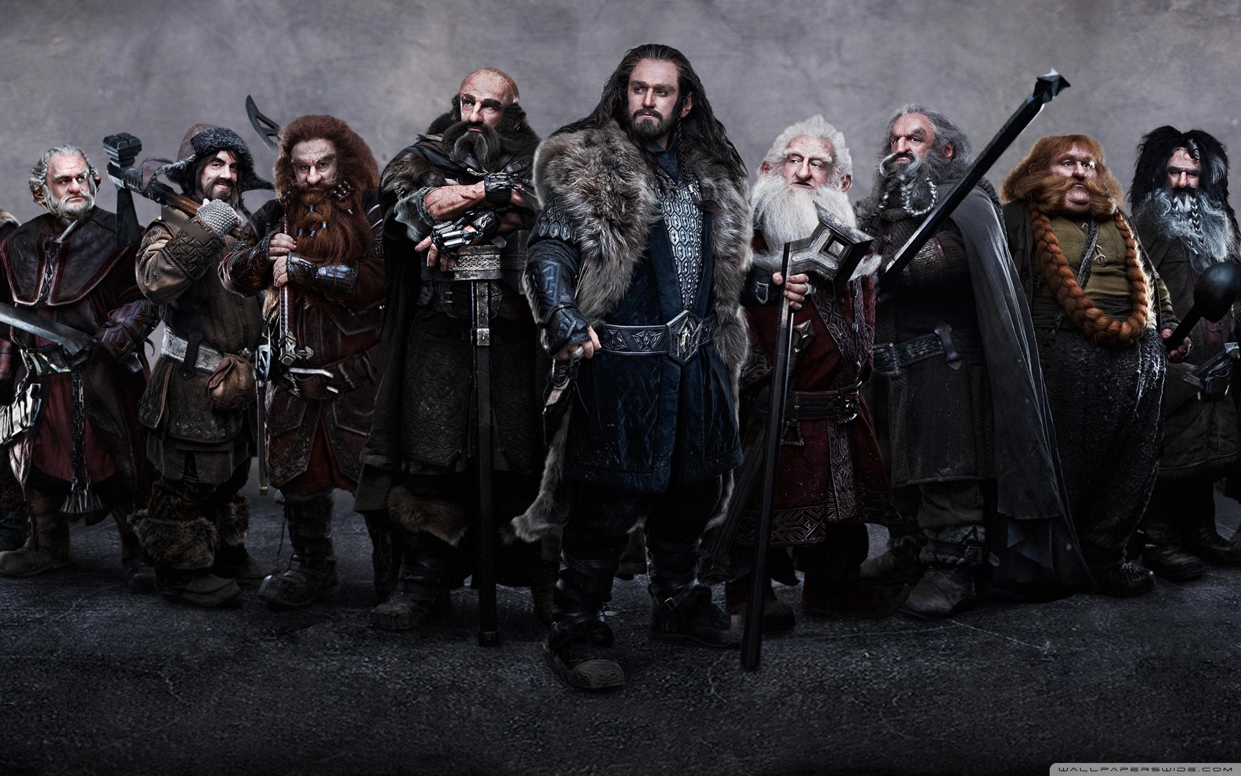 The Hobbit Dwarves 4K HD Desktop Wallpaper For Ultra TV