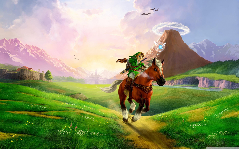 The Legend Of Zelda Ocarina Time 3D 4K HD Desktop Wallpaper