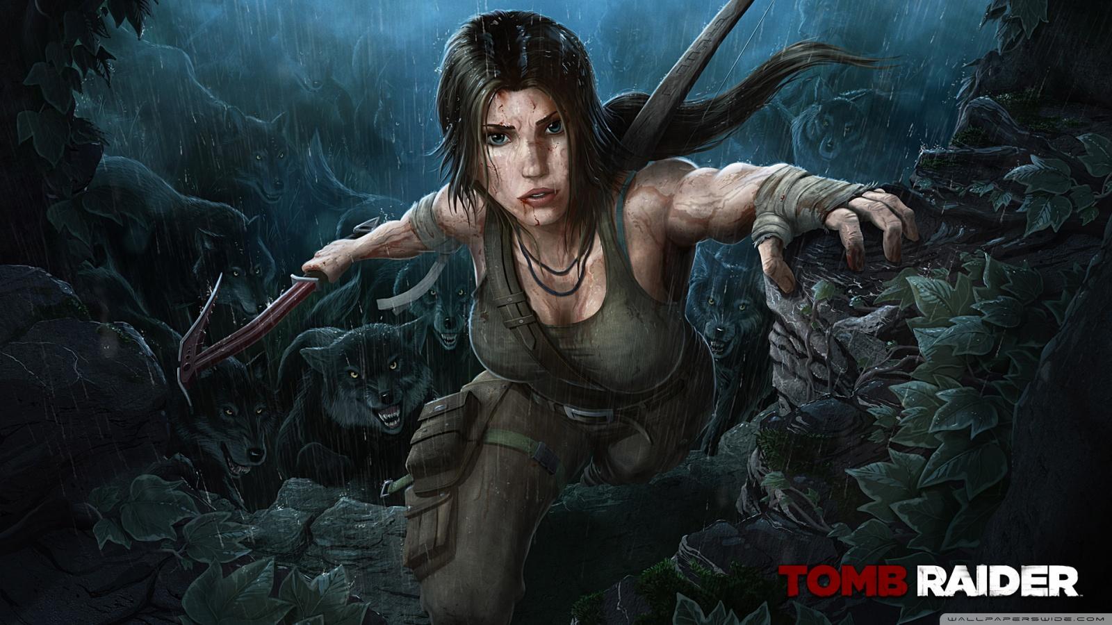 Tomb Raider 2013 Wolves 4K HD Desktop Wallpaper for 4K ...
