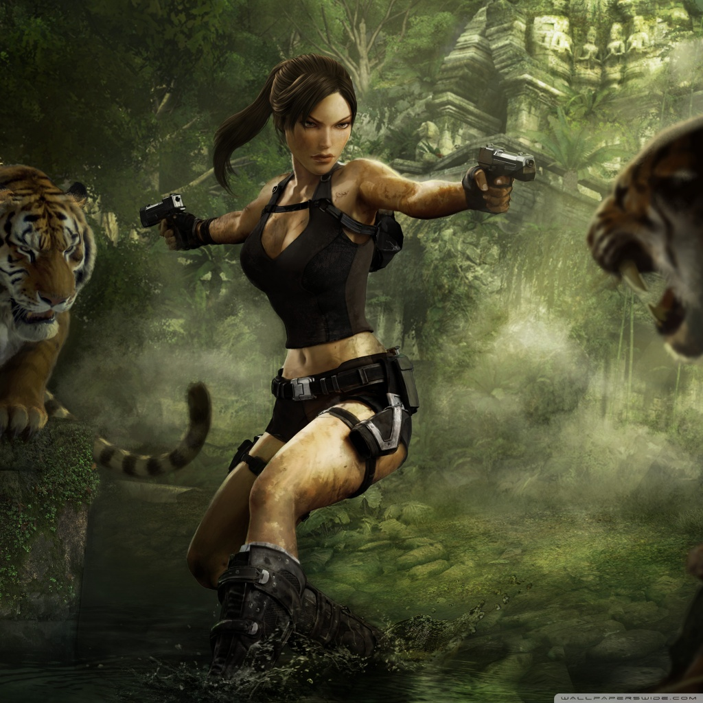 Tomb Raider Wallpaper Hd: Tomb Raider Underworld 4K HD Desktop Wallpaper For 4K