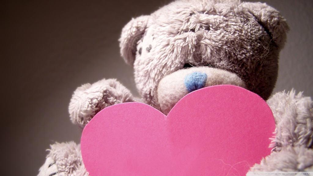 Valentines Day Teddy Bear ❤ 4K HD Desktop Wallpaper for 4K Ultra ...