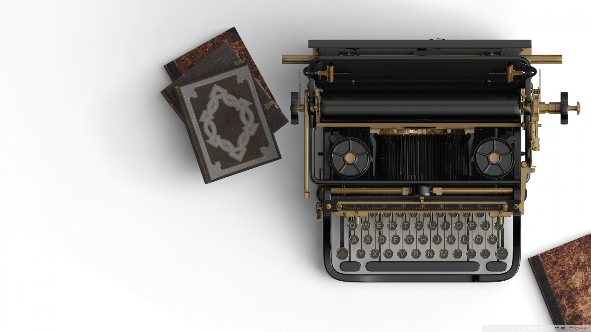 Vintage Typewriter Aesthetic Ultra Hd Desktop Background Wallpaper For 4k Uhd Tv Tablet Smartphone