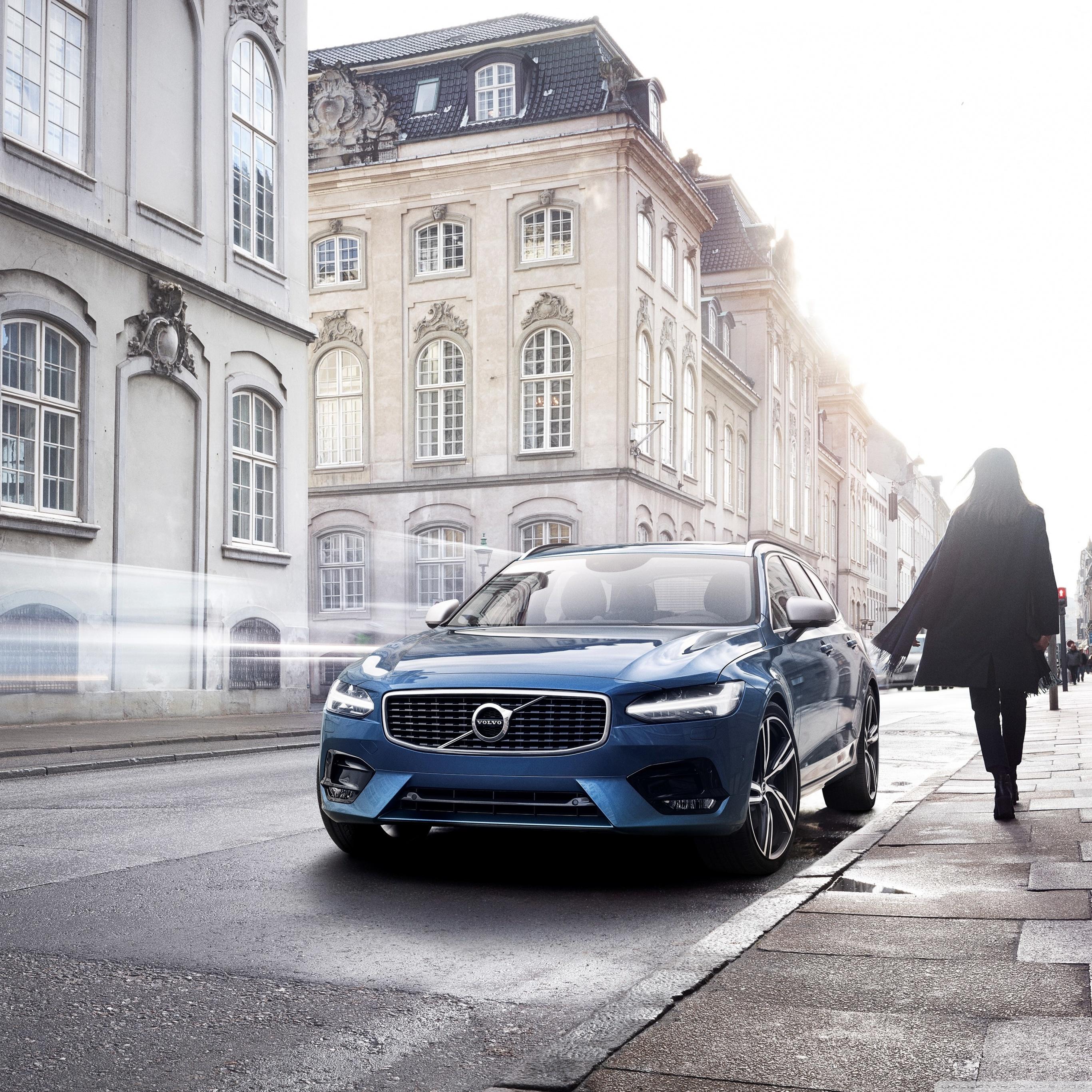 Volvo Car Wallpaper: Volvo S90 Blue Car 4K HD Desktop Wallpaper For 4K Ultra HD