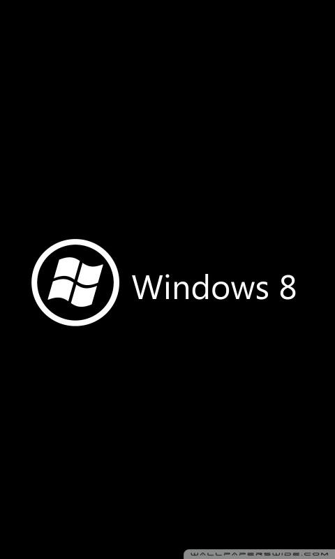 Windows 8 on black 4k hd desktop wallpaper for 4k ultra hd tv mobile wvga 53 voltagebd Image collections