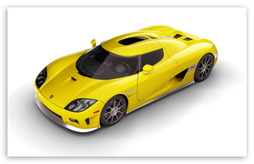 2006 Koenigsegg CCX Yellow Top HD wallpaper for Standard 4:3 Fullscreen UXGA XGA SVGA ; Mobile VGA iPad - VGA QVGA Smartphone ( PocketPC GPS iPod Zune BlackBerry HTC Samsung LG Nokia Eten Asus ) ;