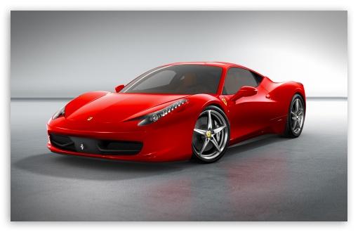 italia phone wallpapers. 2010 Ferrari 458 Italia Front Angle View wallpaper for Standard 4:3 5:4