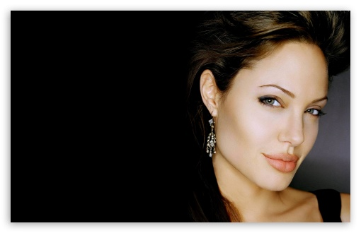 Angelina Jolie 21 wallpaper for Wide 16:10 5:3 Widescreen WHXGA WQXGA WUXGA