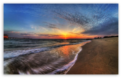 beach sunrise wallpaper. 4 April Sunrise wallpaper for
