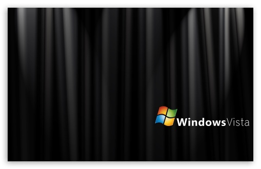 Vista Black Wallpapers. Black Silk Windows Vista