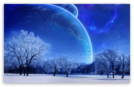 Winter Wallpaper Desktop. 2 Blue Winter wallpaper for