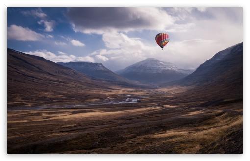 hot air balloon wallpaper. Colorful Hot Air Balloon Ride